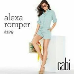 CAbi Alexa Romper 5107